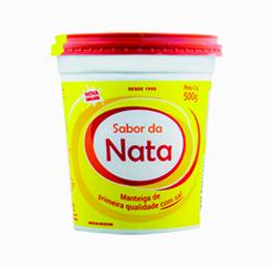 Manteiga Primeira Qualidade pote de 500g com sal